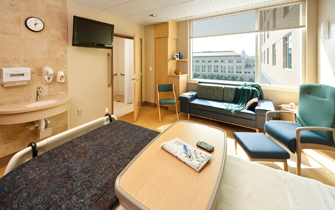 Regions Hospital - Patients & Guests - Patient room