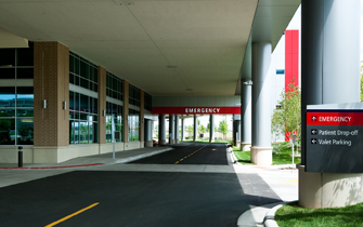 Regions Hospital - Patients & Guests - Parking entry