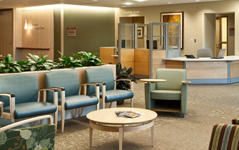 Regions Hospital - Patients & Guests - Surgery waiting room