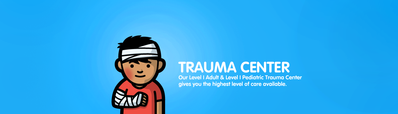 Regions Hospital - Trauma Center - Our Level I Adult & Level I Pediatric Trauma Center gives you the highest level of care available.