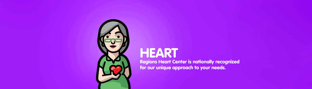 Regions Hospital - Heart - Regions Heart Center is nationally recognized for our unique approach to each patient's needs.