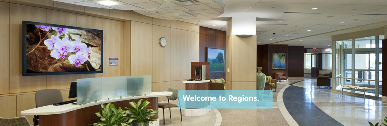 Regions Hospital - Welcome to Regions.