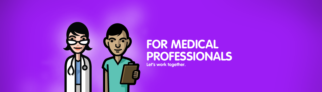 Regions Hospital - For medical professionals - Let's work together.