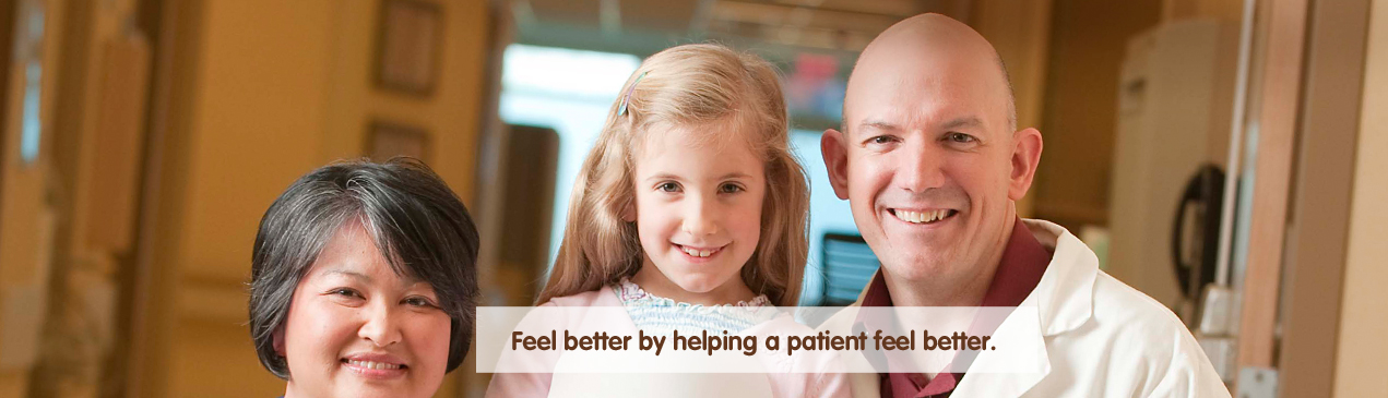 Regions Hospital - Feel better by helping a patient feel better.
