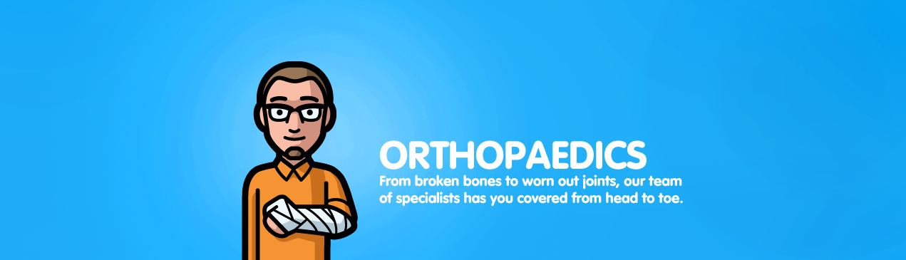 Regions Hospital - Orthopaedics - From broken bones to worn out joints, our team of specialists has you covered from head to toe.