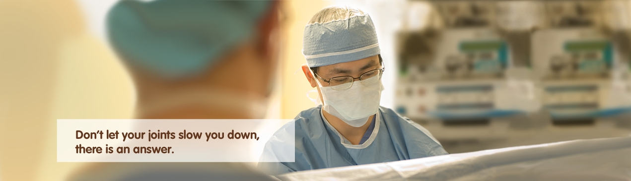 Regions Hospital - Don't let your joints slow you down, there is an answer.
