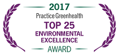 2017 Practice Greenhealth Top 25 Environmental Excellence Award