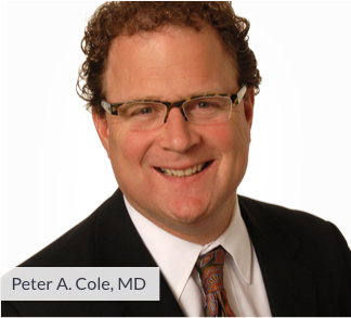 Image: Orthopedics - Peter A. Cole, MD, mobile view