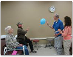 Regions Hospital - Rehabilitation Institute - Participation in therapies