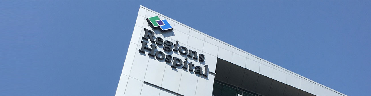 Banner: Transferring your patient - regions hospital building
